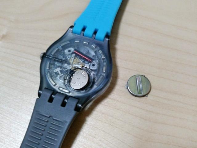 Swatch(スウォッチ)の電池交換は誰でもできると思う